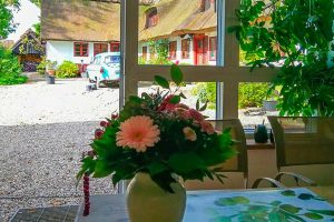Hyggelig morgenmad hos Albertine med udsigt