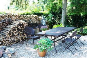 Franske havemøbler ved BB Albertine